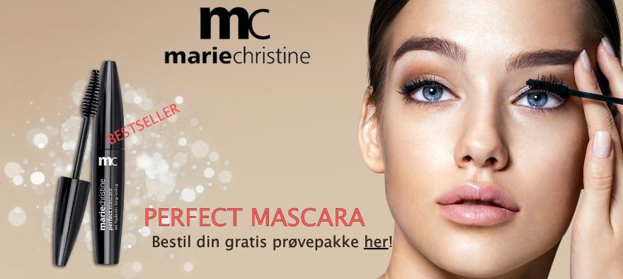 Gratis Prøvepakke Marie Christine Perfect Mascara