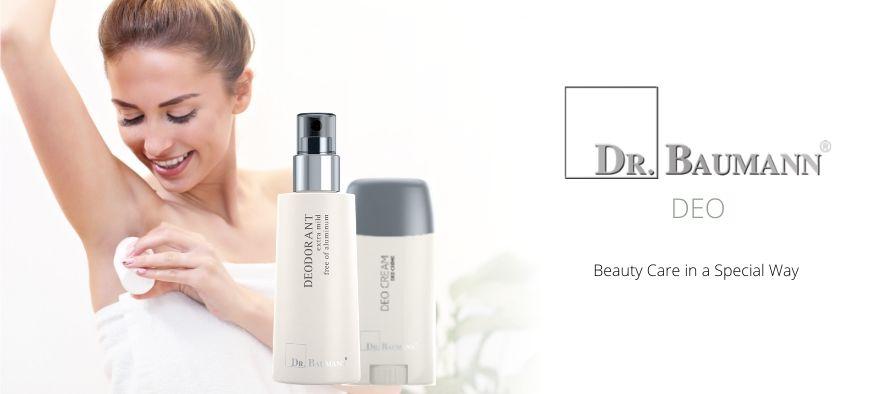 Deodoranter uden aluminium fra Dr. Baumann