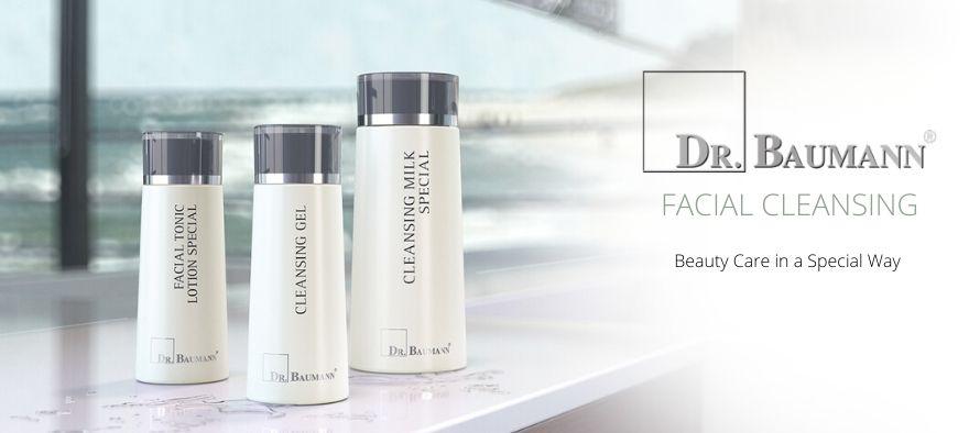 Dr. Baumann rense produkter til ansigtet
