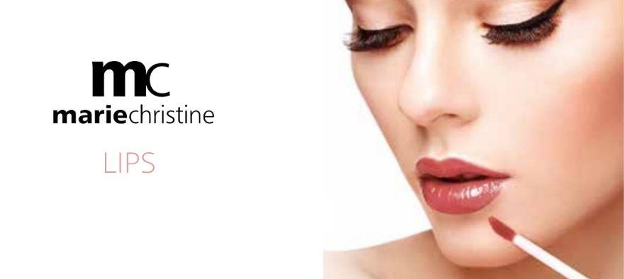 MarieChristine læbestift, ligloss og lipliner