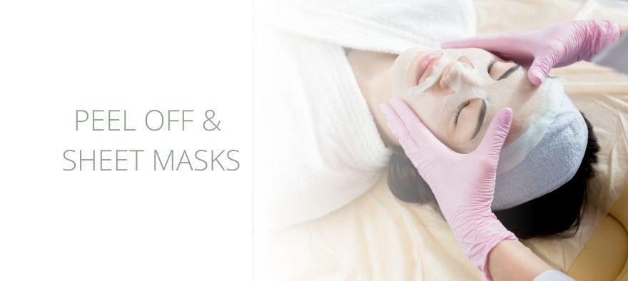 Effektive Peel off og Sheet masker