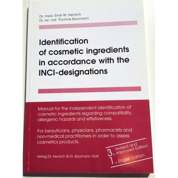 INCI opslagsbog, engelsk, B5500
